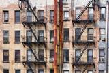 Budynki w pobliżu NYU na Manhattanie w Nowym Jorku - 115674269