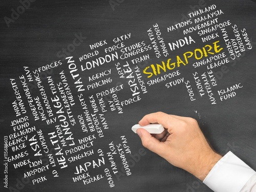 Obraz na plátne  Singapore