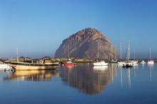 Morro Bay Rock, California, USA