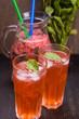 fresh strawberry drink
