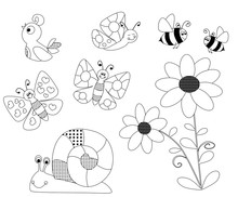 Spring Coloring Pages For Chil...