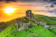 Ruins Of The Corfe Castle At B...