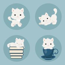 Kittens Icons Set