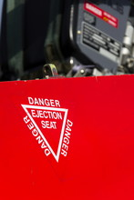 Detail Of Danger Ejection Seat...