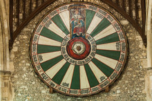 King Arthur's Round Table In Winchester, UK