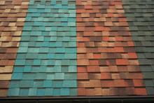 Shingles Samples On Roof