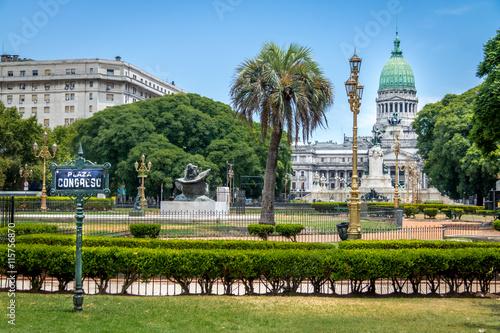 Keuken foto achterwand Buenos Aires Plaza Congreso - Buenos Aires, Argentina