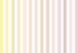 soft-color vintage pastel abstract background with colored vertical stripes (shades of yellow, brown, pink), illustration, copy space - 115761221