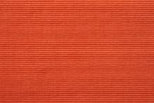 赤いコーデュロイのテクスチャ