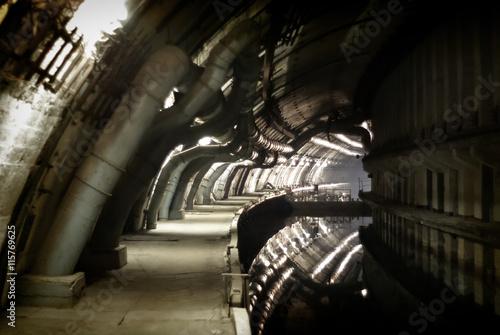 Photo  Classified military object K-825 - underground submarine base
