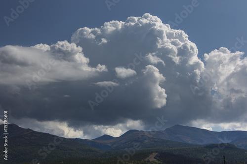 Photo  Gewitterwolken über Kamtschatka - Sibirien - Russland