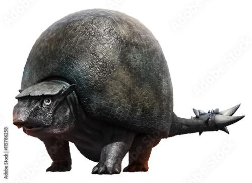 Obraz na plátně  Doedicurus