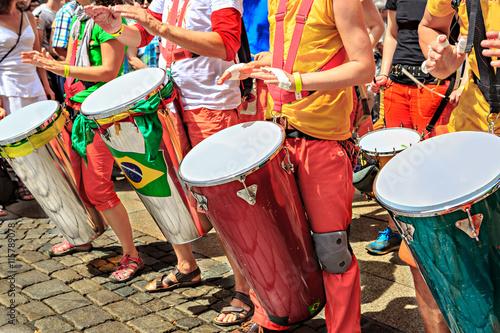 Door stickers Rio de Janeiro Scenes of Samba festival