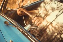 Vintage Car Volkswagen Retro B...