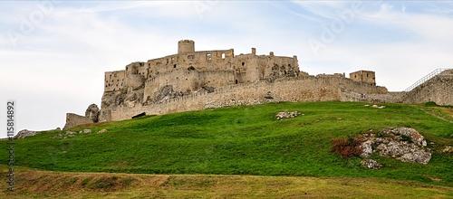 Poster Ruine Ruined castles, Spissky Castle, Slovakia, Europe