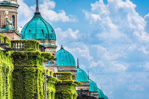 Canvas Prints Cemetery Cemetery Mirogoj architecture details. / Famous cemetery in capital city of Croatia, Zagreb landmark.