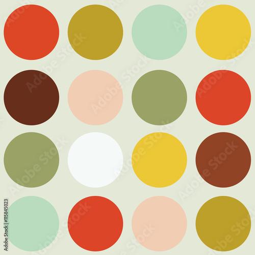 Fotografía  scandinavian geometric modern seamless pattern