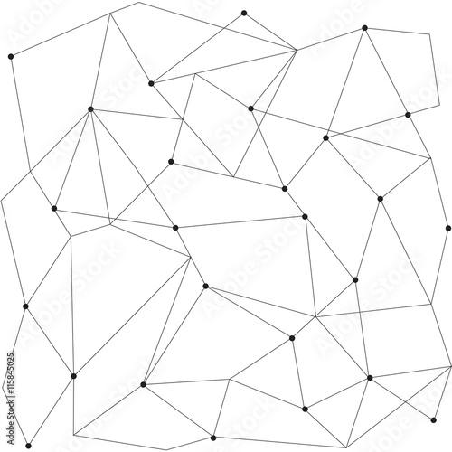 Pinturas sobre lienzo  Modernos patrón transparente geométrica escandinavo