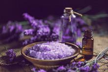 Essential Oil And Lavender Bat...