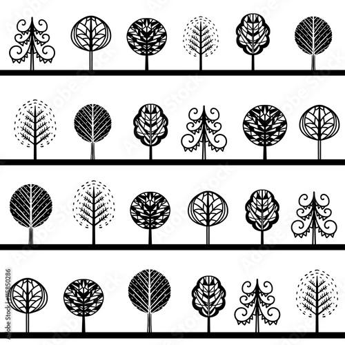 bezszwowy-wzor-z-drzewami