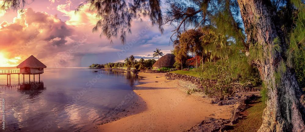 Fototapeta tahiti islands