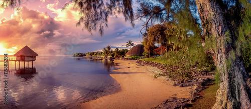Fotografia  tahiti islands