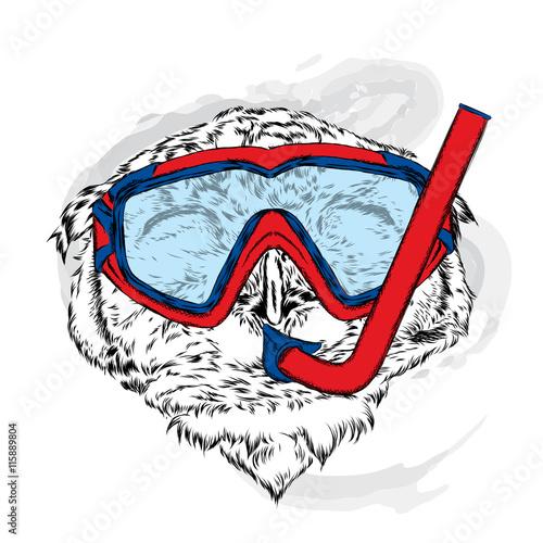 smieszna-sowa-jest-ubranym-maske-dla-nurkowac-ilustracja-wektorowa-dla-karty-z-pozdrowieniami-plakatu-lub-wydrukowac-na-ubrania-hipster-odziez-dla-ptakow-styl-mody