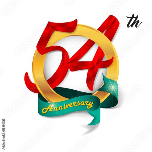 Fotografia  Anniversary emblems template design