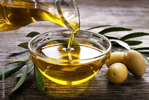 Carta da parati Olive oil