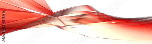 Garden Poster Abstract wave abstract panorama