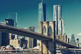 Widok na panoramę Manhattanu z Brooklynu - 115901054