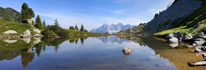 Der Spiegelsee im Panoramaf...