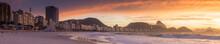 Sunrise View Of Copacabana And...