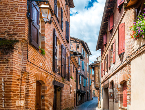 Photo Rue à Albi dans le Tarn en Occitanie, France