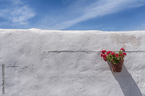 colores de la luz de Andalucía reflejado en las calles de sus pueblos