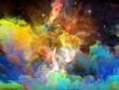 Evolving Space Nebula