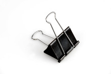 Binder Clip Isolated On White Background