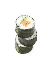 Aljaska Hosomaki Sushi Isolated