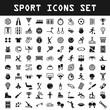 big sport icon set