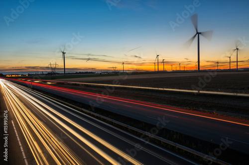 Fotografía  Infrastructures autoroutières