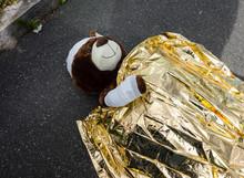 Symbolbild Teddybär Nach Fahr...