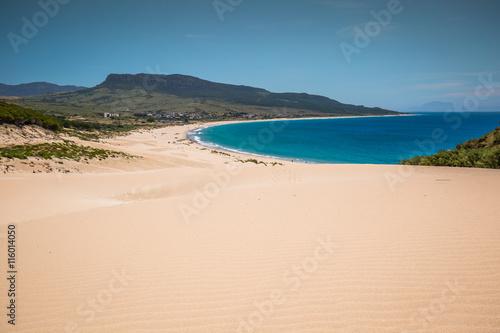 Fotografía  Sand dune of Bolonia beach, province Cadiz, Andalucia, Spain
