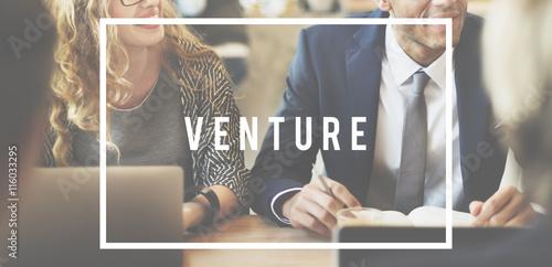 Foto  Venture-Unternehmer-Finanzierung, die Geld-Konzept investiert