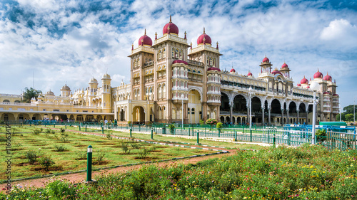 Mysore Palace in Mysore, India Canvas Print