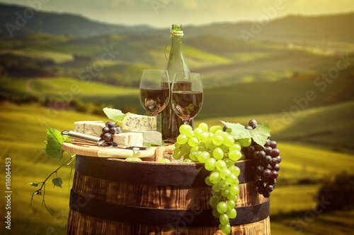 Photo sur Toile Vin Tuscany hills