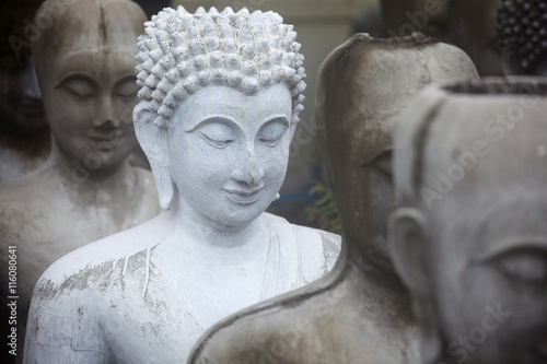buddha statue background. Wallpaper Mural