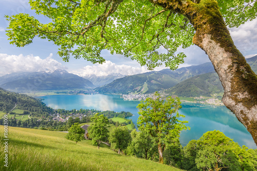 Obraz Zell am See, Salzburger Land, Austria - fototapety do salonu