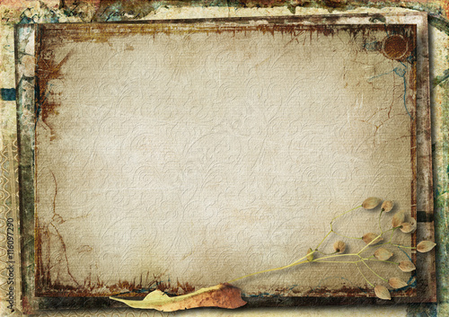 Photo sur Aluminium Retro Grunge gorgeous background