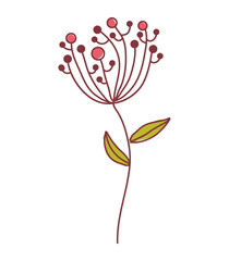 Fototapetaflower floral nature icon