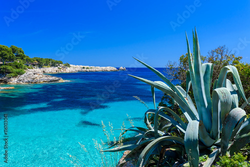 Fotografia, Obraz  Cala Gat at Ratjada, Mallorca - beautiful beach and coast